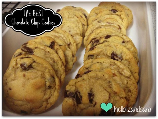 Best Chocolate Chip Cookies! Hands Down! @hellolizandsara.wordpress.com